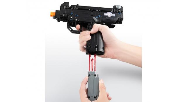 Конструктор CADA deTech пистолет Desert Falcon (307 деталей) 3