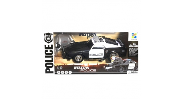 Р/У машина He Tai Toys Полиция 70599BP 1/16 +акб 5