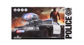 Р/У машина He Tai Toys Полиция 70599P 1/16 на батарейках 5