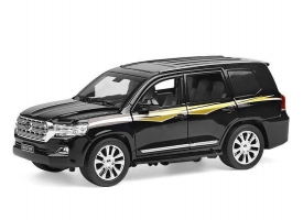 Машина XLG Toyota Land Cruiser M923V 1/24, свет, звук, инерция (1/8шт.) б/к