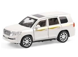 Машина XLG Toyota Land Cruiser M923V 1/24, свет, звук, инерция (1/8шт.) б/к 1