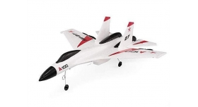 Р/У самолет XK Innovation SU27 340мм EPP 2.4G 3-ch LiPo RTF (белый) 2