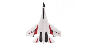 Р/У самолет XK Innovation SU27 340мм EPP 2.4G 3-ch LiPo RTF (белый) 3