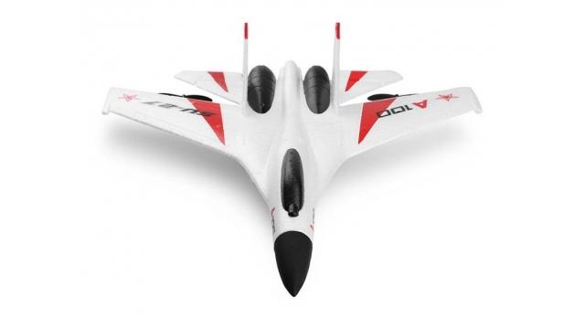 Р/У самолет XK Innovation SU27 340мм EPP 2.4G 3-ch LiPo RTF (белый) 4