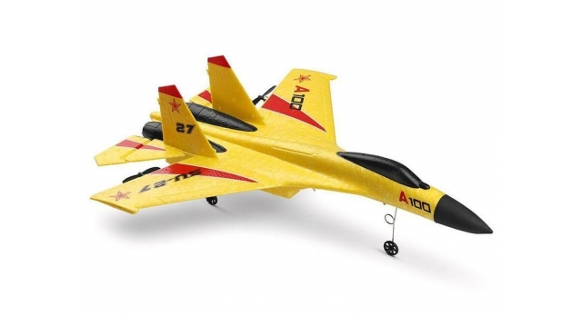 Р/У самолет XK Innovation SU27 340мм EPP 2.4G 3-ch LiPo RTF (белый) 5