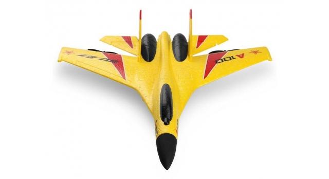 Р/У самолет XK Innovation SU27 340мм EPP 2.4G 3-ch LiPo RTF (белый) 7