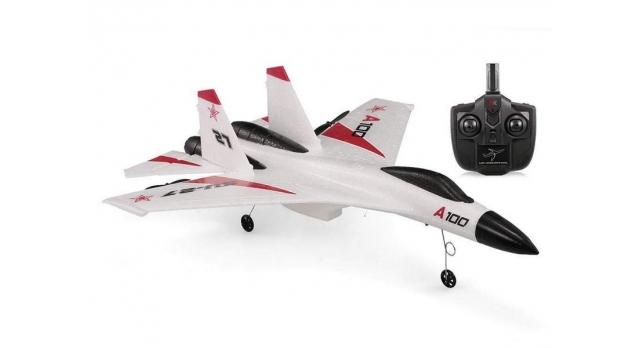 Р/У самолет XK Innovation SU27 340мм EPP 2.4G 3-ch LiPo RTF (белый) 10