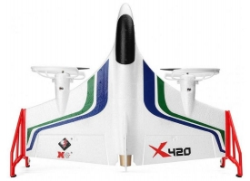 Р/У самолет XK Innovation X420 420мм 3D EPP 2.4G 6-ch LiPo Gyro RTF 1