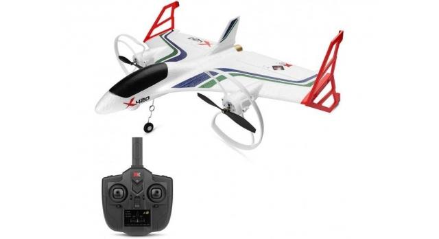 Р/У самолет XK Innovation X420 420мм 3D EPP 2.4G 6-ch LiPo Gyro RTF 10