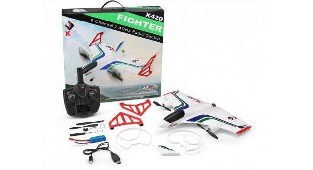 Р/У самолет XK Innovation X420 420мм 3D EPP 2.4G 6-ch LiPo Gyro RTF 11