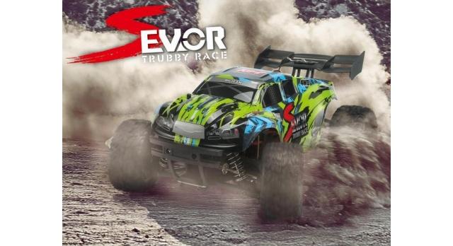 Радиоуправляемая трагги Remo Hobby S EVO-R 4WD 2.4G 1/16 RTR 3
