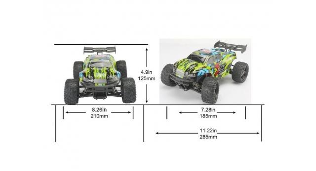 Радиоуправляемая трагги Remo Hobby S EVO-R 4WD 2.4G 1/16 RTR 5