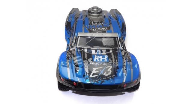 Радиоуправляемый шорт-корс Remo Hobby EX3 4WD 2.4G 1/10 RTR 6