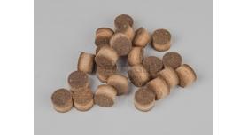 Пыж ДВП (древесно-волокнистый осаленный) / 12 калибр, основной полуторный Н15 80 шт. [мт-496]