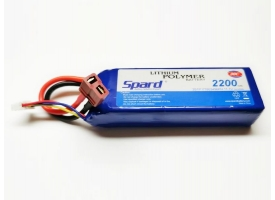Аккумулятор Li-Po Spard 2200mAh, 11,1V, 30C, T‐plug