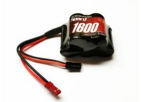 Аккумулятор Ni-Mh Spard 1600mAh, 6,0V, JST‐BEC, Futaba