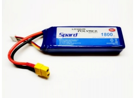 Аккумулятор Li-Po Spard 1800mAh, 11,1V, 75C, XT60