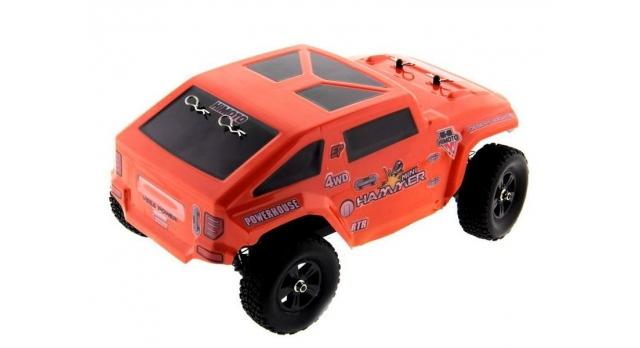 Радиоуправляемый шорт-корс Himoto Hammer Brushless 4WD 2.4G 1/10 RTR 4