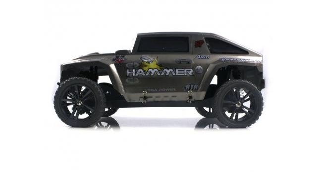 Радиоуправляемый шорт-корс Himoto Hammer Brushless 4WD 2.4G 1/10 RTR 6