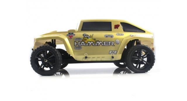 Радиоуправляемый шорт-корс Himoto Hammer Brushless 4WD 2.4G 1/10 RTR 8