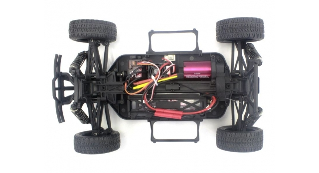 Радиоуправляемый шорт-корс Himoto Hammer Brushless 4WD 2.4G 1/10 RTR 9