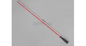 Шомпол для гладкоствольного оружия / Разборный трёхколенный, в оплётке, диаметр: 7-мм; длина: 83 см [мт-495-1]