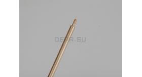 Шомпол для нарезного оружия / Цельный, латунный, диаметр: 5-мм; длина: 79 см [мт-494-1]
