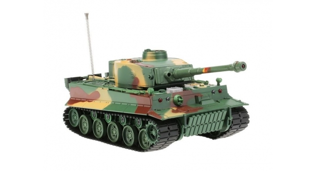 Р/У танк Heng Long 1/26 Tiger I ИК-версия, ИК пульт, акб, RTR 1