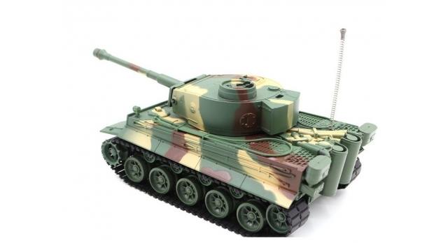 Р/У танк Heng Long 1/26 Tiger I ИК-версия, ИК пульт, акб, RTR 2
