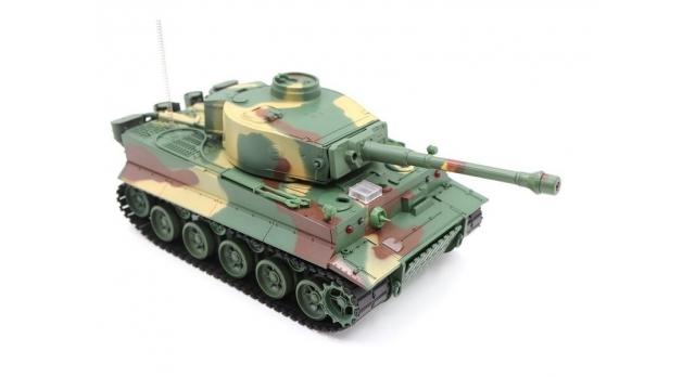 Р/У танк Heng Long 1/26 Tiger I ИК-версия, ИК пульт, акб, RTR 3