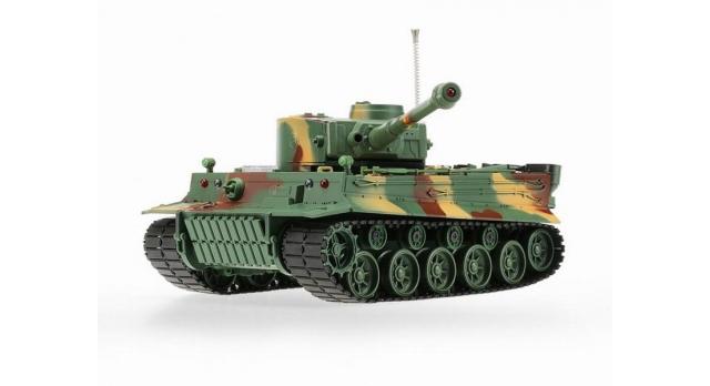 Р/У танк Heng Long 1/26 Tiger I ИК-версия, ИК пульт, акб, RTR 4