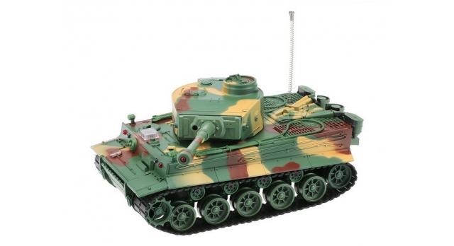 Р/У танк Heng Long 1/26 Tiger I ИК-версия, ИК пульт, акб, RTR 5