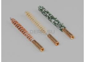 Набор ершей для чистки нарезного оружия / калибр 4,5-мм блистер 3шт. [мт-749]