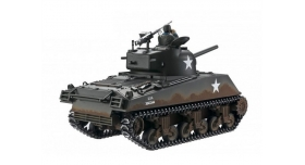 Р/У танк Torro Sherman M4A3, 1/16  2.4G, ИК-пушка, деревянная коробка 3