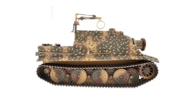 Р/У танк Torro Sturmtiger Panzer 1/16  2.4G, зеленый, ИК-пушка, деревянная коробка 5
