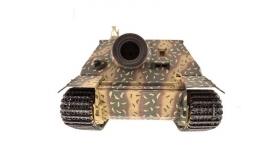 Р/У танк Torro Sturmtiger Panzer 1/16  2.4G, зеленый, ИК-пушка, деревянная коробка 13