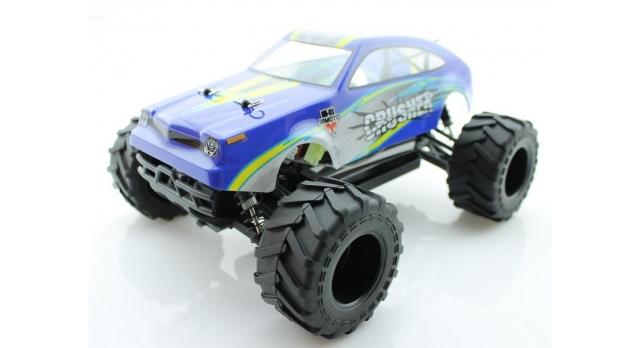 Радиоуправляемый монстр Himoto Crasher Brushless 4WD 2.4G 1/18 RTR 3
