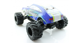 Радиоуправляемый монстр Himoto Crasher Brushless 4WD 2.4G 1/18 RTR 5