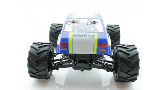 Радиоуправляемый монстр Himoto Crasher Brushless 4WD 2.4G 1/18 RTR 6
