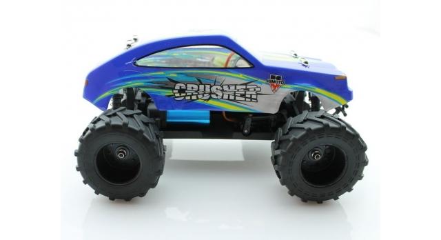 Радиоуправляемый монстр Himoto Crasher Brushless 4WD 2.4G 1/18 RTR 8