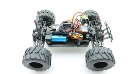 Радиоуправляемый монстр Himoto Crasher Brushless 4WD 2.4G 1/18 RTR 9