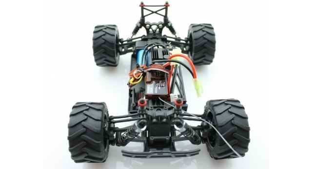 Радиоуправляемый монстр Himoto Crasher Brushless 4WD 2.4G 1/18 RTR 10