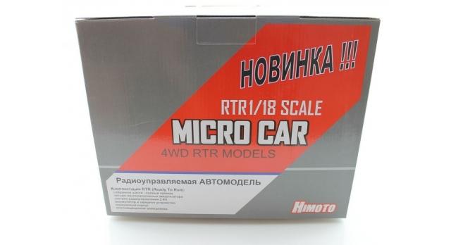 Радиоуправляемый монстр Himoto Crasher Brushless 4WD 2.4G 1/18 RTR 18
