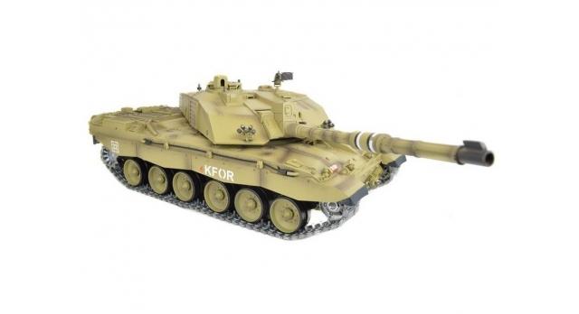 P/У танк Heng Long 1/16 Challenger 2 (Британия) 2.4G RTR PRO 1