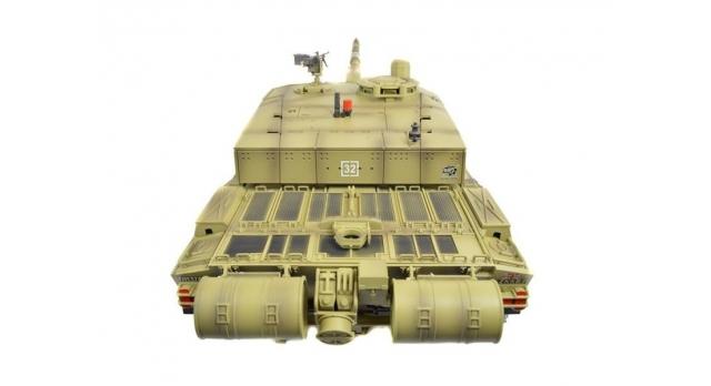 P/У танк Heng Long 1/16 Challenger 2 (Британия) 2.4G RTR PRO 12