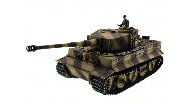 P/У танк Taigen 1/16 Tiger 1 (Германия, поздняя версия) HC, 2.4G RTR 1