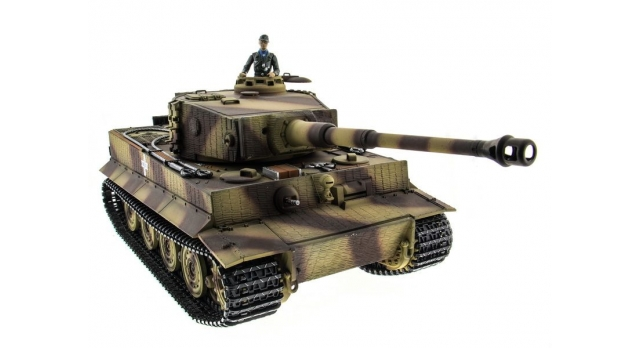 P/У танк Taigen 1/16 Tiger 1 (Германия, поздняя версия) HC, 2.4G RTR 3