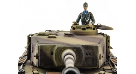 P/У танк Taigen 1/16 Tiger 1 (Германия, поздняя версия) HC, 2.4G RTR 6