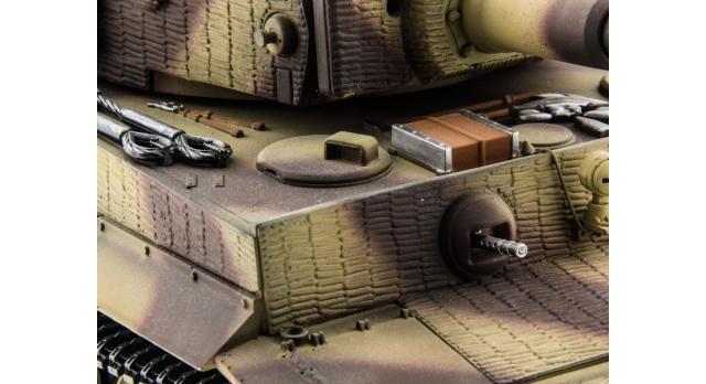P/У танк Taigen 1/16 Tiger 1 (Германия, поздняя версия) HC, 2.4G RTR 7