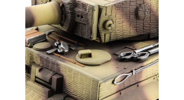 P/У танк Taigen 1/16 Tiger 1 (Германия, поздняя версия) HC, 2.4G RTR 10